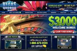 Vegas Casino Online 3000$ Welcome Bonus