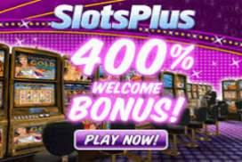 Slots plus casino welcome bonus